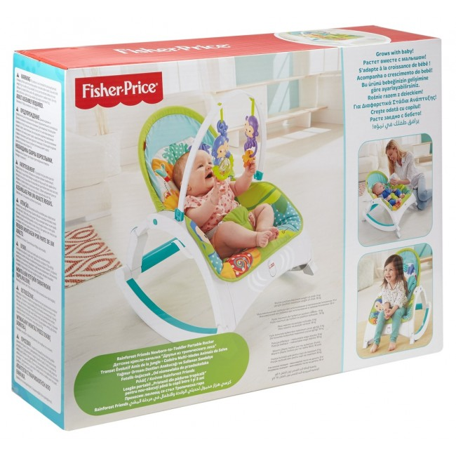 Balansoar Portabil Fisher-Price Newborn-to-Todler