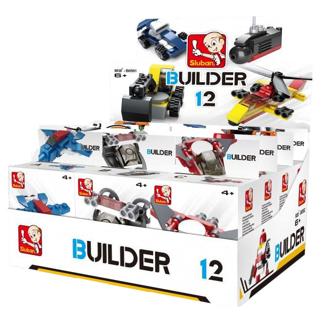 Set de constructie BUILDER MIX