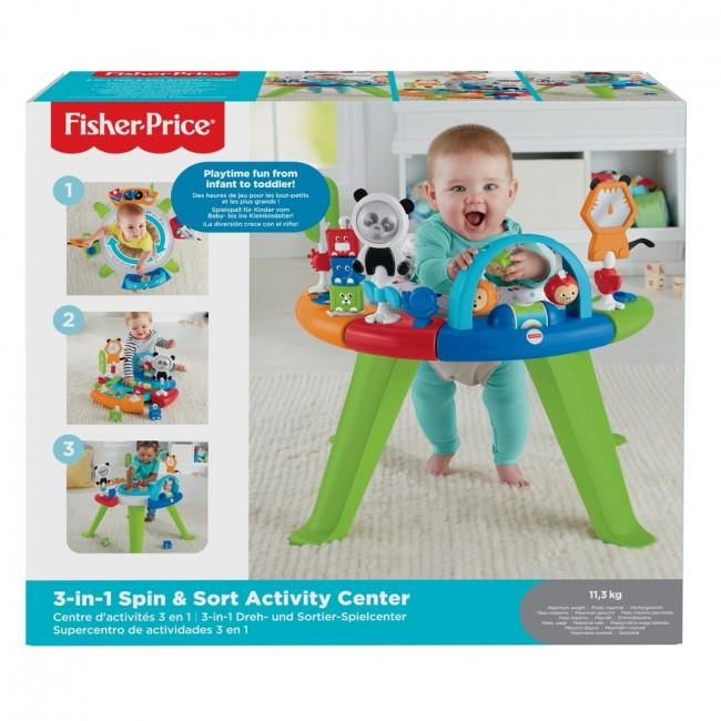 Centru de Activitati 3 in 1 Fisher-Price