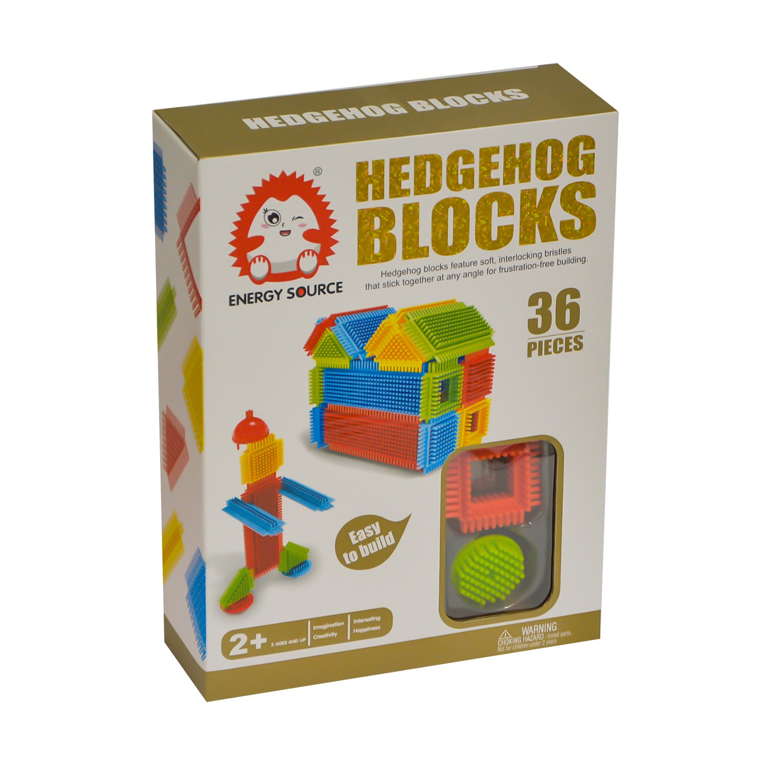 Set Cuburi de Construit Hedgehog Blocks