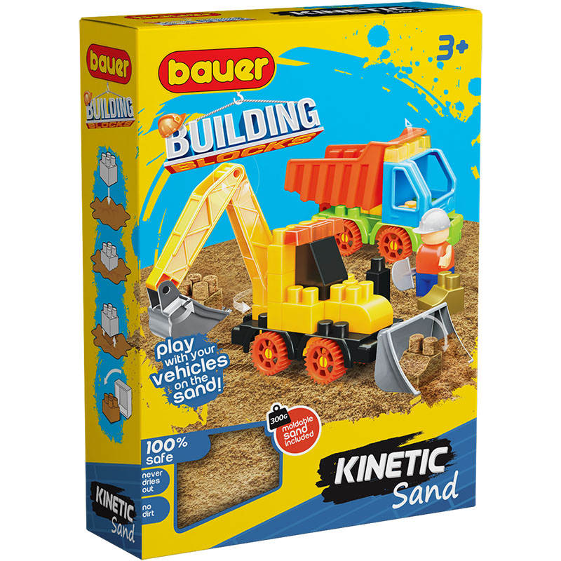00756 Constructor BAUER Kinetick Sand + Construction 3 4605705007567