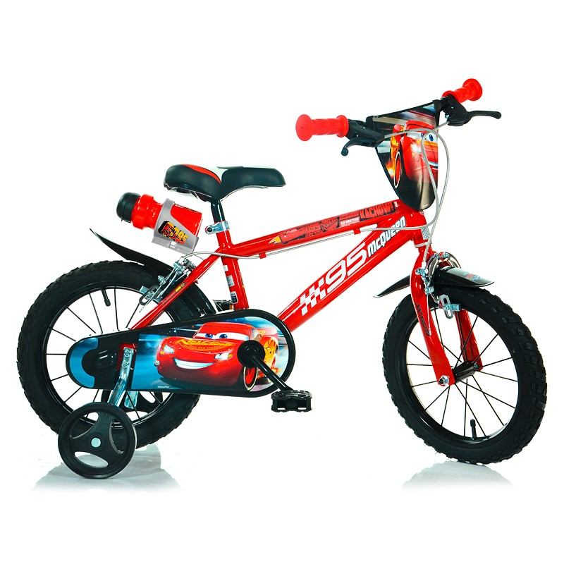 Bicicletă 16 inch Fulger McQueen