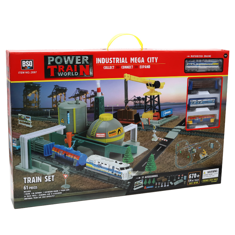 "Calea ferată ""Power Train: Industrial Mega City"""